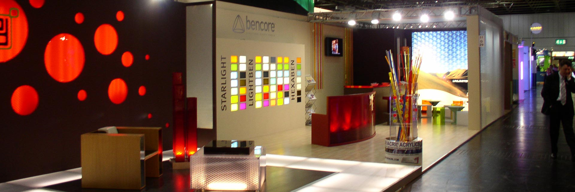 Euroshop 2008, Bencore stand